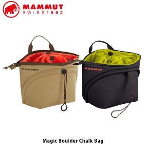 マムート チョークバッグ MAGIC BOULDER CHALK BAG 登山 クライミング ボルダリング ケイビング MAMMUT MAM229000980|geak