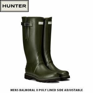 HUNTER ハンター メンズ バルモラル II サイド アジャスタブル MENS BALMORAL II POLY LINED SIDE ADJUSTABLE MFT9100RPO 国内正規品|geak