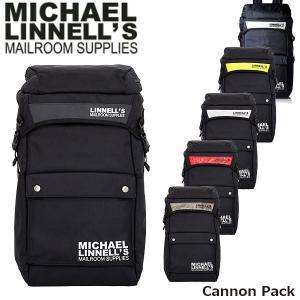 マイケルリンネル リュック Cannon Pack 約34L バックパック おしゃれ 通勤 通学 メンズ レディース 男女兼用 MICHAEL LINNELL ML-013 ML013 国内正規品 geak