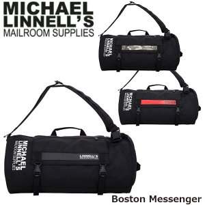 マイケルリンネル ボストンバッグ Boston Messenger 約38L メッセンジャーバッグ 2WAY メンズ レディース 男女兼用 MICHAEL LINNELL ML-022 ML022 国内正規品|geak