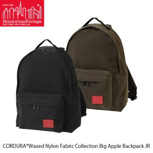 マンハッタンポーテージ Manhattan Portage リュックサック Big Apple Backpack JR CORDURA Waxed Nylon Fabric Collection MP1210JRWXN 国内正規品|geak