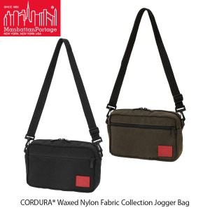 マンハッタンポーテージ Manhattan Portage ショルダーバッグ Jogger Bag CORDURA Waxed Nylon Fabric Collection MP1404LWXN 国内正規品|geak
