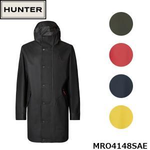 ハンター HUNTER レインコート メンズ オリジナル ラバーコーティング ハンティング コート ジャケット レインジャケット 雨具 HUNTER MRO4148SAE 国内正規品|geak