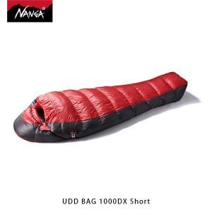 ナンガ NANGA 寝袋 UDD バッグ 1000DX ショート UDD BAG 1000DX Short ダウン シュラフ マミー型 アウトドア キャンプ 登山 NAN112|geak