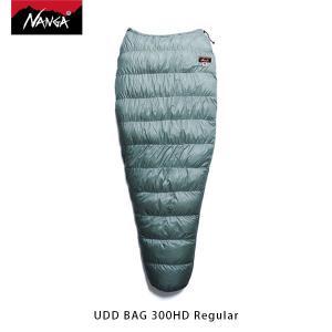 ナンガ NANGA 寝袋 UDD バッグ 300HD レギュラー UDD BAG 300HD Regular ダウン シュラフ マミー型 アウトドア キャンプ 登山 NAN114|geak