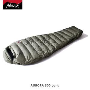 ナンガ NANGA 寝袋 オーロラ500 STD ロング AURORA 500 Long 3シーズン ダウン シュラフ マミー型 アウトドア キャンプ 登山 NAN121|geak
