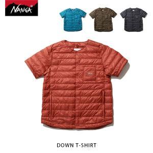 ナンガ NANGA ダウンTシャツ DOWN T-SHIRT 半袖ダウンベスト アウトドア NAN138|geak
