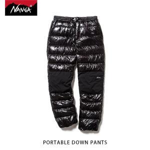 ナンガ NANGA ポータブルダウンパンツ PORTABLE DOWN PANTS インナーダウンパンツ キャンプ アウトドア NAN147|geak