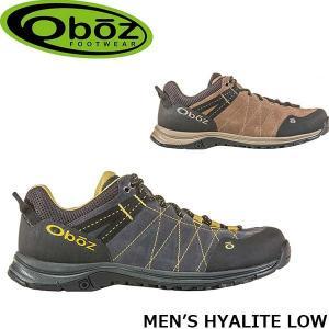 オボズ メンズ トレッキングシューズ 登山靴 マウンテンシューズ ハイアライト ロー MEN'S HYALITE LOW アウトドア キャンプ 山登り 41801 Oboz OBZ41801|geak