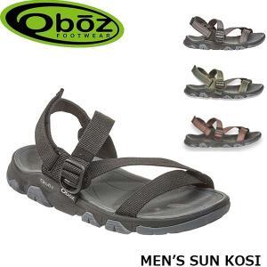 オボズ サンダル MEN'S SUN KOSI メンズ サンコージィ 60701 アウトドア キャンプ 山登り アウトドアギア Oboz OBZ60701|geak