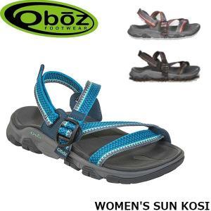 オボズ サンダル WOMEN'S SUN KOSI レディース ウィメンズ サンコージィ 60702 アウトドア キャンプ 山登り アウトドアギア Oboz OBZ60702|geak