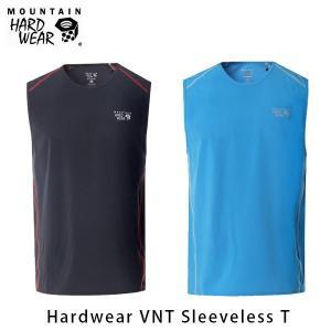 マウンテンハードウェア メンズ ハードウェアVNTスリーブレスT タンクトップ Tシャツ ノースリーブ トレイルランニング ファストハイク OE8213 国内正規品|geak