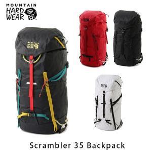 マウンテンハードウェア メンズ レディース スクランブラー35バックパック バックパック リュックサック デイパック 35L ハイキング 登山 OU7563 国内正規品|geak