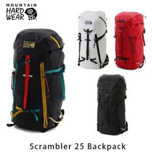 マウンテンハードウェア メンズ レディース スクランブラー25バックパック バックパック リュックサック デイパック 25L ハイキング 登山 OU8268 国内正規品|geak