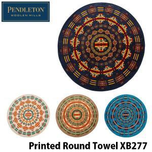 ペンドルトン プリンテッド ラウンドタオル XB277 PENDLETON Printed Round Towel 大判タオル 19805019 PEN19805019 国内正規品|geak