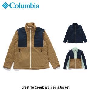 コロンビア Columbia レディース ジャケット クレストトゥクリーク Crest To Creek Women's Jacket アウター 上着 PL3129 国内正規品|geak