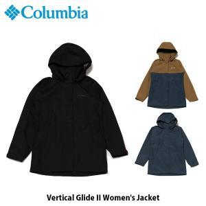 コロンビア Columbia レディース バーティカルグライドII Vertical Glide II Women's Jacket レインジャケット 防水 ハイキング キャンプ PL3143 国内正規品|geak