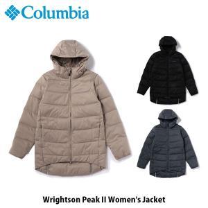 コロンビア Columbia レディース ダウンコート ライトソンピークII Wrightson Peak II Women's Jacket キャンプ アウトドア 上着 アウター PL5070 国内正規品|geak