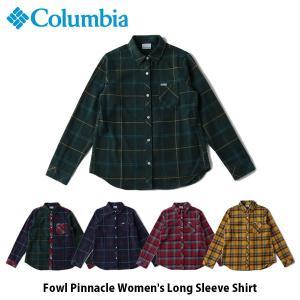 コロンビア Columbia レディース 長袖シャツ フォウルピナクル ウィメンズロングスリーブシャツ シャツ 長袖 吸湿速乾 紫外線カット PL7102 国内正規品|geak