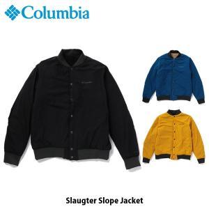 コロンビア Columbia メンズ アウター スロータースロープジャケット トップス 長袖 ジャケット 上着 撥水 アウトドア キャンプ PM1562 国内正規品|geak