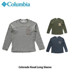 コロンビア Columbia メンズ Tシャツ コロラドロードロングスリーブ 長袖 吸湿速乾 紫外線カット アウトドア キャンプ フェス カジュアル PM1564 国内正規品|geak