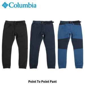 コロンビア Columbia メンズ レディース ロングパンツ ポイントトゥーポイントパンツ 長ズボン 吸湿速乾 アウトドア キャンプ フェス PM1579 国内正規品 geak