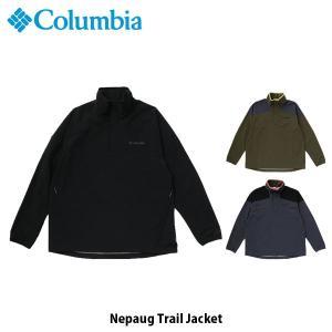 コロンビア Columbia メンズ アウター ネパーグトレイルジャケット トップス 長袖 ジャケット 上着 ハーフジップ 撥水 保温機能 PM1663 国内正規品|geak