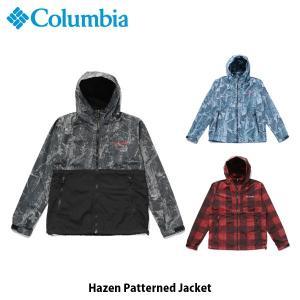 コロンビア Columbia メンズ レディース アウター ヘイゼンパターンドジャケット トップス 長袖 ジャケット 上着 撥水 アウトドア キャンプ PM3728 国内正規品|geak