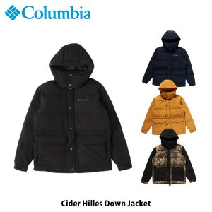 コロンビア Columbia メンズ ダウンジャケット シダーヒルズダウンジャケット Cider Hilles Down Jacket 撥水 キャンプ 上着 アウター PM3733 国内正規品|geak