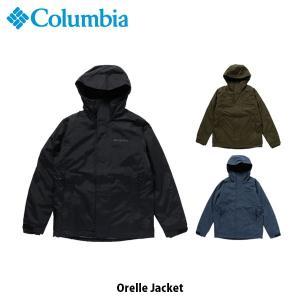 コロンビア Columbia メンズ ダウンライナー オレルジャケット Orelle Jacket 防水透湿ジャケット 保温 キャンプ アウトドア 上着 アウター PM3741 国内正規品|geak