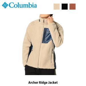 コロンビア Columbia メンズ フリースジャケット アーチャーリッジジャケット Archer Ridge Jacket ボア キャンプ アウトドア 上着 PM3743 国内正規品|geak