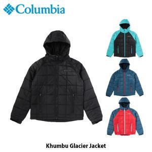 コロンビア Columbia メンズ 中綿ジャケット キュンブーグレイシャージャケット Khumbu Glacier Jacket キャンプ 上着 アウター コンパクト PM3747 国内正規品|geak