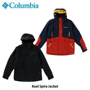 コロンビア Columbia メンズ アウター キールスパイアージャケット トップス 長袖 ジャケット 上着 撥水 保温機能 アウトドア キャンプ PM3761 国内正規品|geak