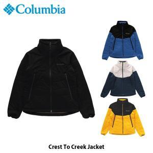 コロンビア Columbia メンズ ジャケット クレストトゥクリークジャケット Crest To Creek Jacket 中綿 アウトドア ハイキング 上着 アウター PM3791 国内正規品 geak