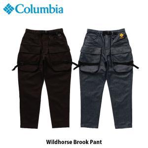 コロンビア Columbia メンズ デニムピエロパンツ ワイルドホースブルックパンツ Wildhorse Brook Pant 撥水 テーパードシルエット PM4973 国内正規品|geak