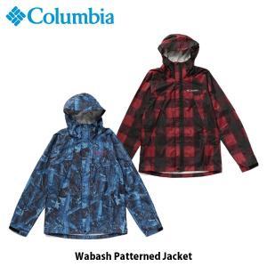 コロンビア Columbia メンズ レディース アウター ワバシュパターンドジャケット 長袖 ジャケット 上着 防水 アウトドア キャンプ PM5664 国内正規品|geak