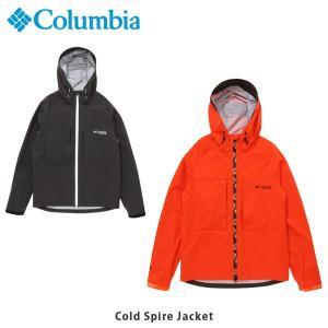 コロンビア Columbia メンズ レインジャケット コールドスパイアージャケット ウェア 長袖 ジャケット 上着 アウター スタッフバッグ付き PM5667 国内正規品|geak