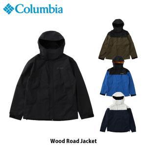 コロンビア Columbia メンズ レインジャケット ウッドロードジャケット Wood Road Jacket アウター 上着 ハイキング キャンプ アウトドア PM5687 国内正規品|geak
