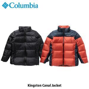 コロンビア Columbia メンズ ダウンジャケット キングストンキャナルジャケット Kingston Canal Jacket 保温 撥水 アウトドア 上着 アウター PM5693 国内正規品|geak