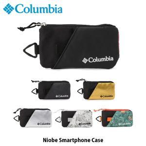 コロンビア Columbia スマホケース ナイオベスマートフォンケース Niobe Smartphone Case 旅行 フェス ポーチ PU2091 国内正規品 geak