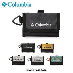 コロンビア Columbia カードケース ナイオベパスケース Niobe Pass Case 通勤 通学 旅行 PU2250 国内正規品|geak