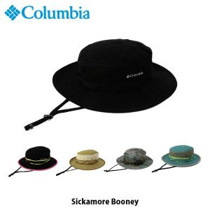 コロンビア Columbia メンズ レディース シッカモア ブーニー 帽子 ハット キャップ 紫外線対策 日よけ帽子 UVカット アウトドア キャンプ PU5039 国内正規品 geak