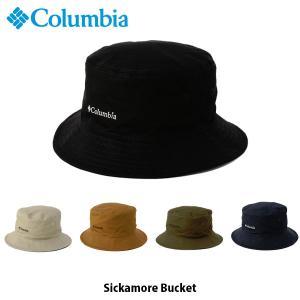 コロンビア Columbia メンズ レディース シッカモアバケット 帽子 ハット アウトドア キャンプ 登山 トレッキング 山登り 日よけ帽子 PU5040 国内正規品 geak