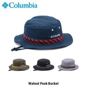 コロンビア Columbia メンズ レディース 帽子 バケットハット ウォルナットピークバケット Walnut Peak Bucket 紫外線カット PU5041 国内正規品|geak