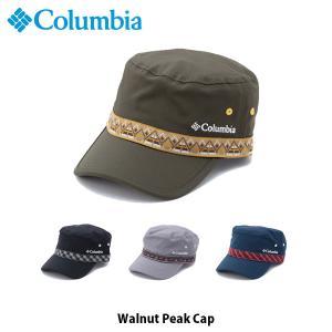 コロンビア Columbia メンズ レディース 帽子 キャップ ウォルナットピークキャップ Walnut Peak Cap トレッキング キャンプ ハイキング PU5042 国内正規品|geak