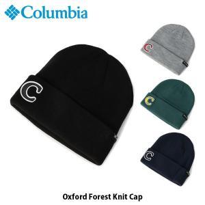 コロンビア Columbia メンズ レディース ニット帽 オックスフォードフォレストニットキャップ Oxford Forest Knit Cap 帽子 PU5442 国内正規品|geak