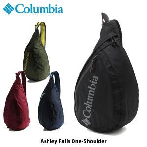 コロンビア Columbia メンズ レディース アシュレイフォールズワンショルダー ボディバッグ 斜め掛けバッグ 撥水 オムニシールド パッカブル PU8202 国内正規品|geak