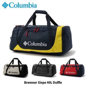 コロンビア Columbia ブレムナースロープ40Lダッフル 2wayボストンバックパック ボストンリュック バックパック リュックサック ブラック 黒 PU8230 国内正規品|geak