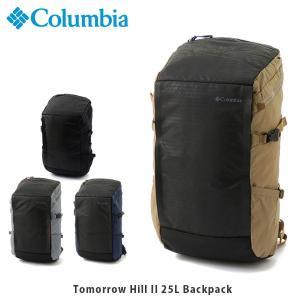 コロンビア Columbia メンズ レディース リュック トゥモローヒルII25Lバックパック バッグ デイパック 通勤 通学 オムニシールド 撥水 PU8316 国内正規品|geak