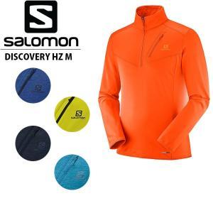 サロモン メンズ ミッドレイヤー DISCOVERY HZ M スキー ランニング ハーフジップ 長袖 L40366400 L40366500 L40366600 L40366700 L40366800 SALOMON SAL0036|geak